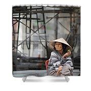 Saigon Lady Shower Curtain