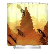Siam Visage Shower Curtain