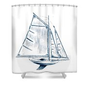 Sail Boat Shower Curtain