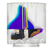 Sail Boats Shower Curtain