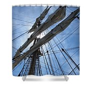 Sail Bristol Shower Curtain