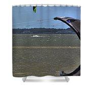 Sail Fam Reunion Shower Curtain