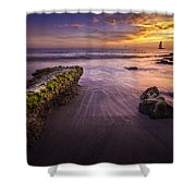 Sail Into The Sunset Shower Curtain