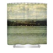 Sail Lesson Shower Curtain