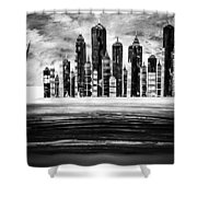 Sail With The City 16 Shower Curtain
