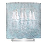 Sailaway By V.kelly Shower Curtain