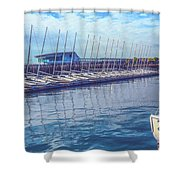 Sailboat Classes Shower Curtain
