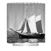 Sailboat - Id 16235-142735-0101 Shower Curtain