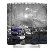 Sailboat Series 14 Shower Curtain