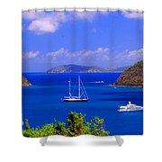 Sailboats In St. John's Shower Curtain