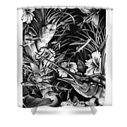 Sailfish Collage Shower Curtain