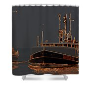 Sailing And Fishing 2 Shower Curtain