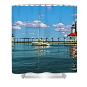 Sailing At St Josephs Shower Curtain