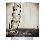Sailing Boat Nautical 5 Shower Curtain