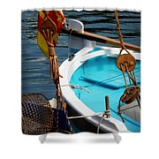 Sailing Dories 1 Shower Curtain