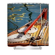 Sailing Dories 4 Shower Curtain