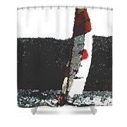 Sailing In Acapulca Shower Curtain