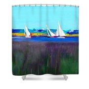 Norfolk Sails Shower Curtain