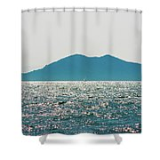 Sailing In The Distance Shower Curtain