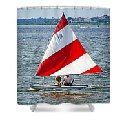 Sailing Shower Curtain