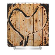 Sailing Love With No Strings Attached Shower Curtain