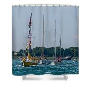 Sailing North Shower Curtain
