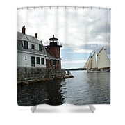 Sailing Out Shower Curtain