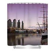 Sailing Ship Shower Curtain