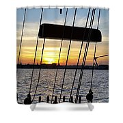 Sailing Summers Shower Curtain