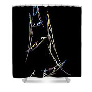 Sailing The South China Sea Shower Curtain