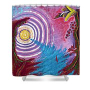 Sailing Through My Thoughts Shower Curtain