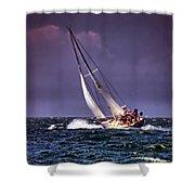 Sailing To Nantucket 001 Shower Curtain