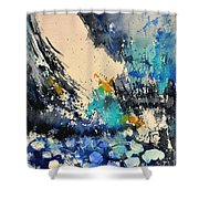 Sailing Watercolor Shower Curtain