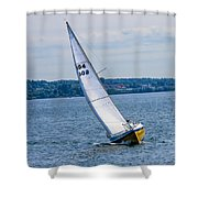 Sailor Coming Home Shower Curtain