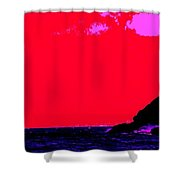 Sailor Take Warning Shower Curtain