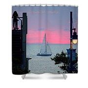 Sailors De Light  Shower Curtain