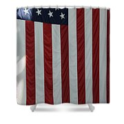 Sailors Stand In Front Of The American Shower Curtain