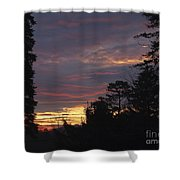 Sailors Take Warning Shower Curtain