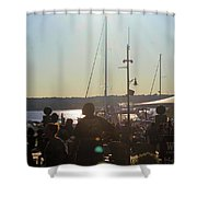 Sails And Sunsets Shower Curtain