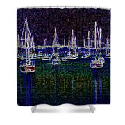 Sails At Sunrise Shower Curtain