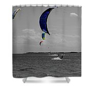 Sails In Color Shower Curtain