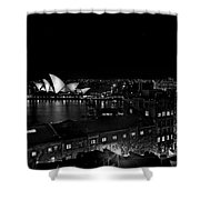 Sails In The Night Shower Curtain