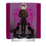 Saint Anonymous Shower Curtain