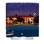 Saint Augustine Shower Curtain