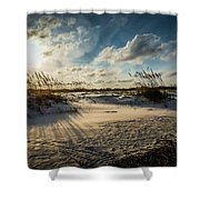 Saint Augustine  Shower Curtain