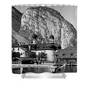 Saint Bartoloma On Konigssee Lake Shower Curtain
