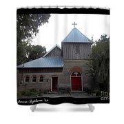 Saint Cyprians Episcopal Church Shower Curtain