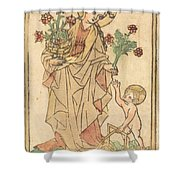 Saint Dorothy Shower Curtain