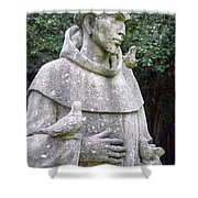 Saint Francis Shower Curtain