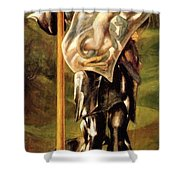 Saint George 1877 Shower Curtain